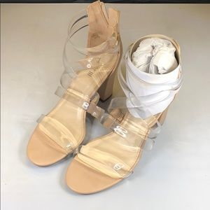 [233]Bar Iii 6m Blythe Strappy Dress Sandals